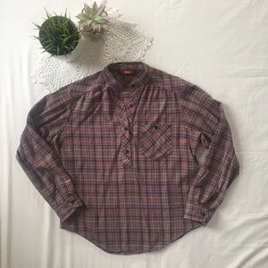 Vintage Lee 3/4 Button Down Flannel